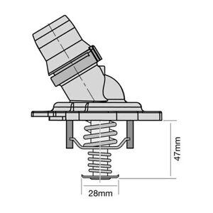Tridon Thermostat TT554-170 for HONDA ACCORD 2008~2020 2.4 litre