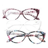 Reading Glasses Women Cat Eye Eyeglasses Clear Frame Presbyopic Men Read Lens