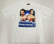 Pacquiao vs Marquez III double sided graphic t-shirt men sz 2XL Hot Eagle