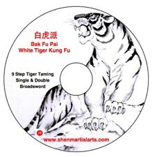 Dvd - White Tiger Kung Fu Broadsword - Gm Doo Wai