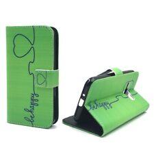 Samsung Galaxy J1 2016 Étui Coque Téléphone Portable Protection Pochette de Vert