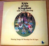 Kids Of The Kingdom with Annie Herring, Sharing Songs of Worship, 1976 - LP