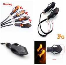 2pcs Durable Motorcycle Super Bright Flash 12 LEDs Turn Signal Indicator Lights