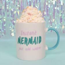 X2 INSTANT MERMAID JUST ADD WATER MUGS BNIB GIFT TEA COFFEE BIRTHDAY PRESENT