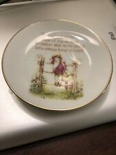 Holly Hobbie Vintage Mother'S Day 1975 Plate
