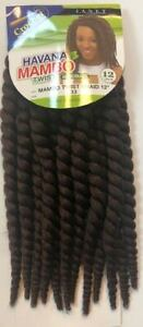 "Janet Collection Synthetic Crochet Braiding Hair HAVANA MAMBO TWIST 12"""