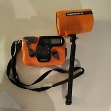 Hanimex Amphibian 35mm Underwater Camera and Flash + Strap Overall Good Conditio