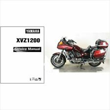 1983-1993 Yamaha Venture Royale 1200 ( XVZ1200 ) Service Manual on a CD
