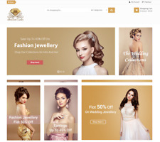 Profitable JEWELRY Affiliate STORE Turnkey Online Business Website For Sale