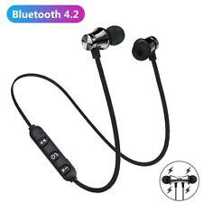 Bluetooth Magnetic In-Ear Headphone Stereo Earphone Headset Wireless Earbuds My