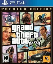 Grand Theft Auto V 5 Premium Edition (Sony PlayStation 4 Ps4) Brand New Sealed