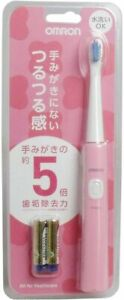 Omron Health Care Sonic Type Electric Toothbrush Pink HT-B210-PK