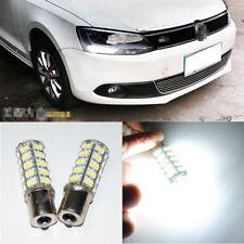 2x White LED DRL Driving Daytime Running Lamp Light For Volkswagen Jetta Mk6
