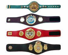 WBC WBO IBF WBA Boxing Championship Belt Replica High Quality Adult Size 4 belt