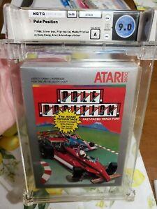 Pole Position (Atari 2600, 1983) Graded Wata 9.0