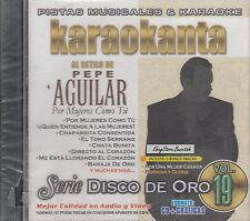 Pepe Aguilar Serie Disco De Oro Vol 19 Karaoke New Nuevo SEALED