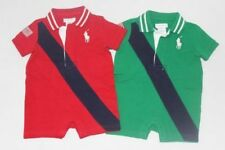 Ralph Lauren Cotton Baby Boys' One-Pieces