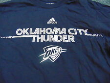 ADIDAS NBA OKLAHOMA CITY THUNDER GO-TO TEE T-SHIRT SIZE S
