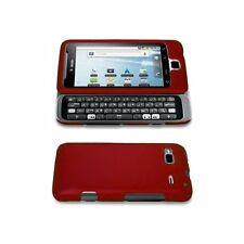 Hard Rubberized Case for HTC T-Mobile G2 - Red