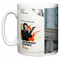 Clint Eastwood, Classic 70's Movie Dirty Harry, Mad Cop Coffee Tea Mug Gift