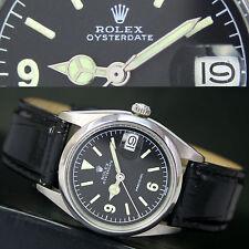 Mechanische - (Handaufzugs) Rolex Armbanduhren mit Datumsanzeige