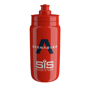 2 x Elite Fly Team Ineos Water Bottle, Red - 550ml