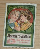 39368 Vignette Anuncio Alpenstern Gofres Gebrüder Hörmann Dresden