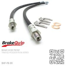 BRAKEQUIP DRUM BRAKE HOSE FRONT KIT [1960-62 HOLDEN FB-EK UTE/VAN/SEDAN/WAGON]