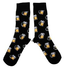 MENS STEIN OF BEER BIG HEADED BEER REAL ALE SOCKS UK 6-11 / EUR 39-45 / US 7-12