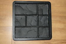 CONCRETE PAVING MOULD-SLAB-BRICK best price on ebay - 300x300x30mm