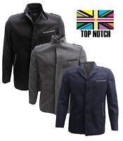Mens Voeut Formal Smart Jacket Blazer Black Blue Grey Slim Fit Coat 36 - 50