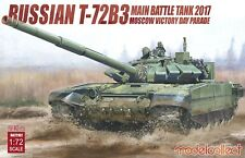 Modelcollect UA72102, Russian T-72B3 Main Battle Tank 2017 Moscow Victory Day Pa