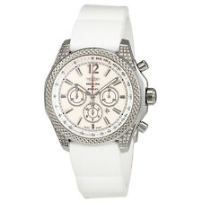 Breitling Bentley Barnato Storm Silver Dial Chronograph Automatic Mens Watch
