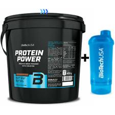 Biotech Protein Power Integratore Proteico Gusto al Cioccolato - 4Kg + Omaggio