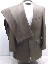 (40R) Caravelli Men's  Green Classic 2 Button double vent Suit pants 34/29