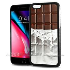 ( For iPhone 7 ) Back Case Cover AJ10359 Chocolate