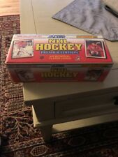 1990 SCORE CANADIAN HOCKEY FACTORY SEALED SET 445 CARDS BRODEUR,JAGR,LINDROS RCs