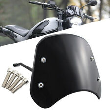 Motorcycle Black Windshield Windscreen Wind Deflector For Benelli Leoncino 500