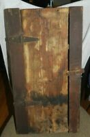 """Antique Medicine Cabinet Wood Chest Surface Wall Mount  23"""" x 12.5""""x 4.75"""""""