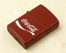 Coca-Cola Vintage Promotional Petrol Lighter Made in Korea