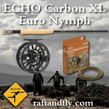 """Echo Carbon Xl Euro Nymph 4wt 10'0"""" - Choose Line $199 or Complete Outfit $249"""