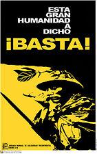 Political cuban POSTER.Vietnam Enough Basta.Cuba.asia 1.Revolution Art Design