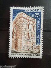 ANDORRE FRANCAISE, timbre 174 MAISON D ANDORRE A PARIS, oblitéré, VF USED STAMP