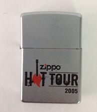 ZIPPO Hot Tour 2005 Zippo Lighter Bradford PA Made in USA