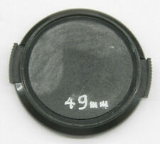 49mm Front Snap On Lens Cap - Unbranded  -  USED Z660