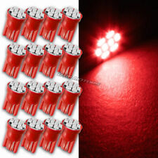16x RED 8 LED Replacement T10 Wedge Light Bulb 194 2450 2652 2921 For MAZDA