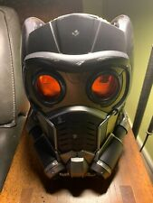 Open Box Marvel Legends Star Lord Electronic Helmet Guardians of the Galaxy
