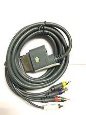 Microsoft Xbox 360 componente HD Audio Video AV Cable Lead con Interruptor 1.8m 6ft