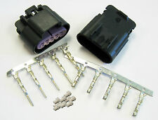 5 Way Black GT 150 Sealed Male & Female Connector w Pins 15326827 & 15326822