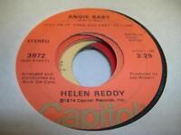 Rock Pop 45 HELEN REDDY Angie Baby on Capitol